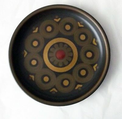 Denby Pottery Arabesque Pattern Side Plate 16.5cm Dia made in Stoneware