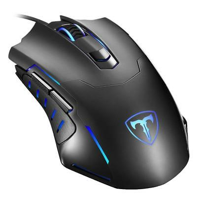 Black Ergonomic Gaming Mouse Wired USB Mouse Gaming Mice wireless