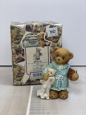 Cherished Teddies LOVE IS THE BEARY BEST BEDTIME STORY Jude Figurine