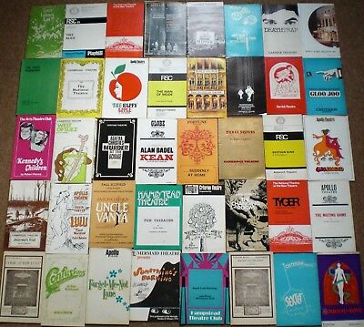 1970s THEATRE PROGRAMMES COLLECTION Job Lot Mixed Bundle VINTAGE MEMORABILIA