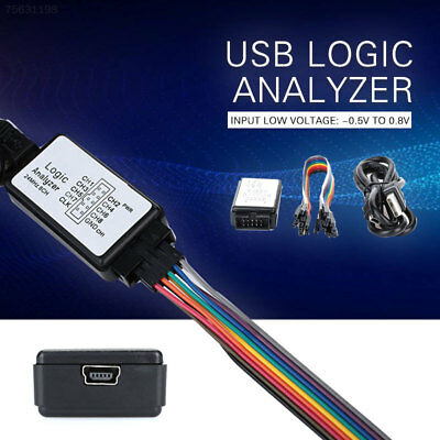 6C4D M100 Laboratory Electronics Logic Analyzer Convenient for ARM FPGA