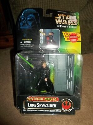 Star Wars POTF Luke Skywalker Electronic Power F/X BRAND NEW