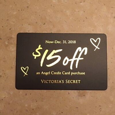 Victoria's Secret Coupon $15 Off Angel Card Purchase Now-Dec 31, 2018 $15 OFF!!!