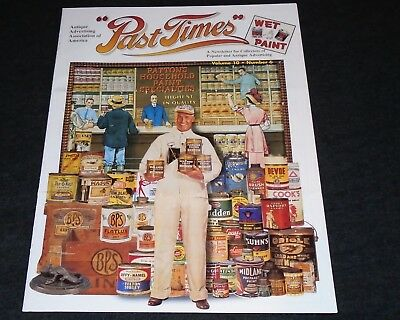 Antique Advertising Newsletter - Vintage Paint Signs, Paint Cans, Displays
