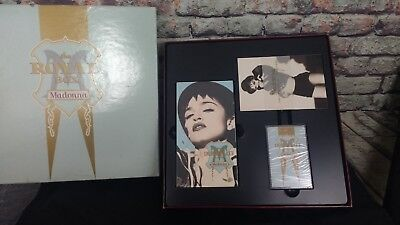 Madonna The Royal Box Immaculate Collection Cassette VHS Tape Postcards New