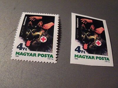 Hungary # 2978 imperf MNH