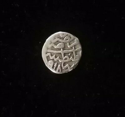 Ottoman Empire (918 AH) 1501 Silver Coin 1 Aqche Akre Rare Quality Old (Turkey)