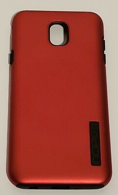 Incipio DualPro Series Case for Samsung Galaxy J7 (2018) - Iridescent Red/Black