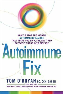 The Autoimmune Fix by Tom O'Bryan Book The Cheap Fast Free Post