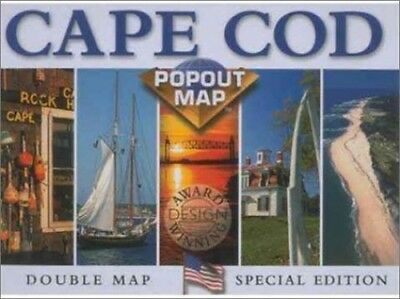 Cape Cod (USA PopOut Maps S.) by Compass Maps Sheet map Book The Cheap Fast Free