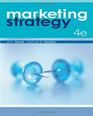 Marketing Strategy by Hartline, Michael D Book The Cheap Fast Free Post