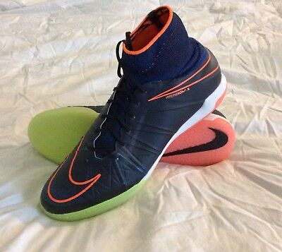 newest 6e631 3df74 New  175 Nike HypervenomX Proximo IC Sz. 13 Soccer Shoes Blue 747486 008 IN