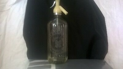 Vintage Tooth & Co. Blue Bow Soda Syphon Free Postage