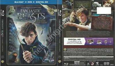 Fantastic Beasts and Where to Find Them (Blu-ray SLIPCOVER ONLY)
