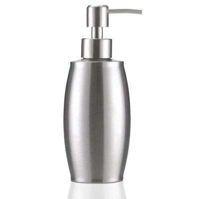 5X(Soap and lotion dispensers 350 ML Stainless Steel Spring Foam Pump (showerX8)