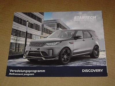 2017 2018 Startech Land Rover Discovery Sales Brochure 4 Pages Mint!