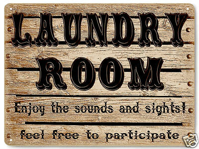 Laundry Room METAL SIGN great gift funny vintage style Wall Plaque 484