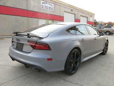 2016 Audi RS7 RS7 Performance-Twin Turbocharged 560hp/4.0L-V8 2016 Audi RS7 Performance AWD rs rebuildable salvage damaged wrecked Low Reserve
