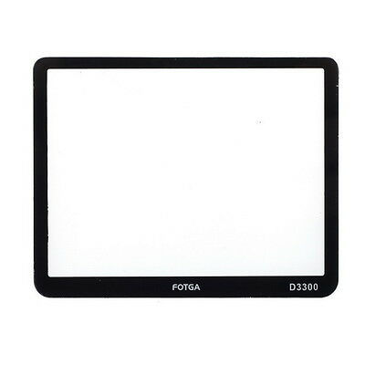 FOTGA Optical Glass LCD Screen Protector Film For Nikon D3300 DSLR Camera Hot