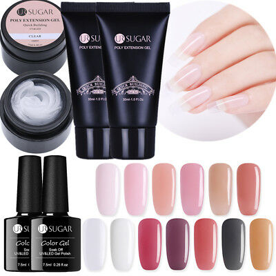 UR SUGAR Nail Poly Quick Building UV Gel Polish Acrylic Soak off Builder UV Gel