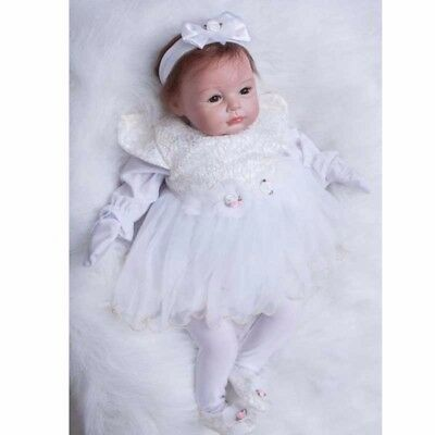 "22""inch Reborn Baby Dolls Realistic Newborn Toddler Doll Lifelike Boy/Girl Gift"