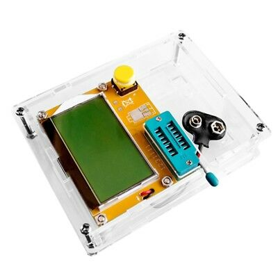 Transparent Acrylic Case Shell Box For LCR-T4 ESR Transistor Testers Capacitance