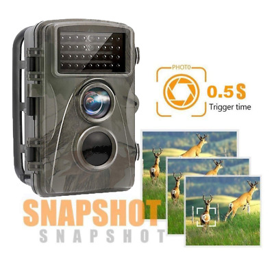 H9 16MP 1080P HD Video Hunting Camera Night Vision 36 LEDs IR Trail Cam Trap WF