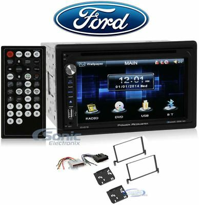 """2-Din 6.5"""" DVD/CD Player Receiver Monitor w/Bluetooth For 1997-1998 Ford F-150"""