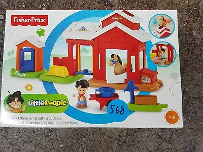 Mattel BFT86 - Fisher-Price Little People Pferdestall 568