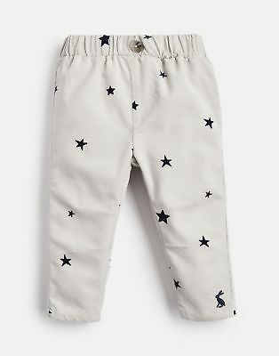 Joules Baby Morgan Cord Trouser in Grey Star