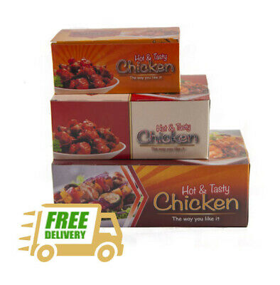 FRIED CHICKEN TAKEAWAY Boxes Hot Food Catering Small Medium Large