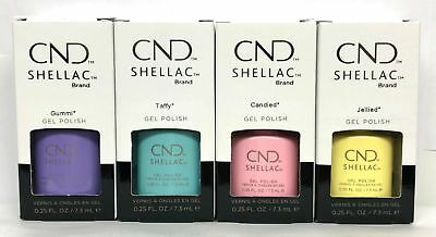 CND Shellac Chic Shock Collection 2018 4 x 7.3ml Limited Edition