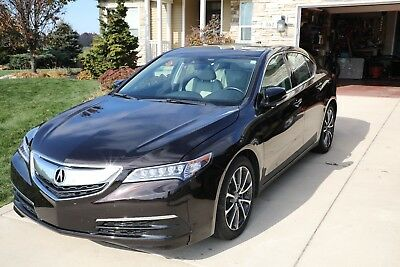 2015 Acura TLX Technology Package Acura TLX