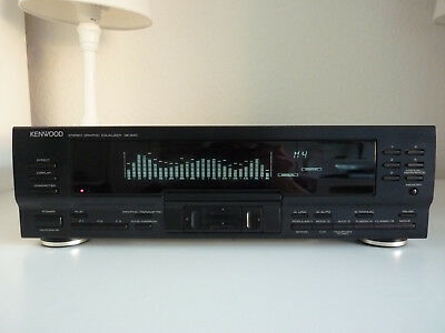 Kenwood Ge-940 Graphic Equalizer + Manual
