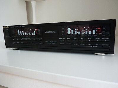 Technics Sh-E65 Stereo Graphic Equalizer + Manual.