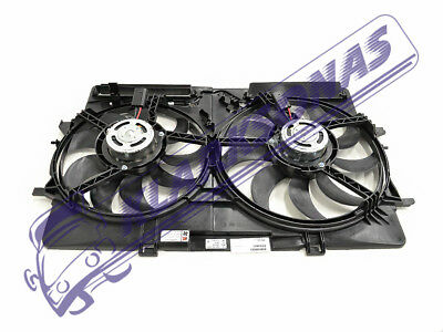 Audi A4 2012 -> New Radiator Fan Cooling With Shroud 8K0121207A
