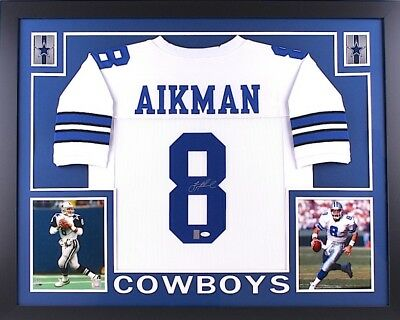6c7c1a8257b 🏈Troy Aikman Dallas Cowboys Custom Framed Signed Jersey | JSA  Authentication🏈