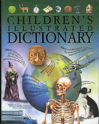 Children's Illustrated Dictionary - Full Colour Hardback Book 256 Pages