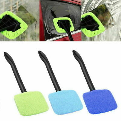 Car Windshield Cleaner Wipe Tool Inside Window Glass Cleaning Tool Durable Kit