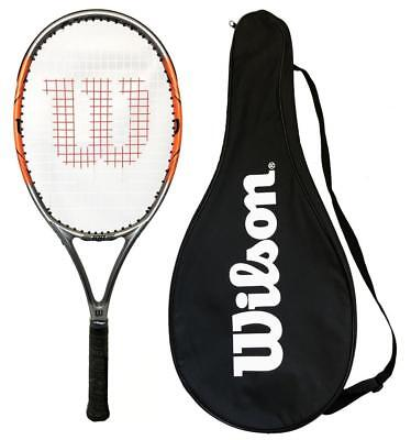 Wilson Nitro 100 Graphite Tennis Racket with Full Cover RRP £100