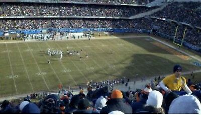 2 Chicago Bears vs Los Angeles Rams Tickets 12/9/2018 Sideline Prime Time Game