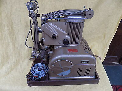 Vintage Rare Fully Working 1940S Ampro Stylist 16Mm Film Projector.