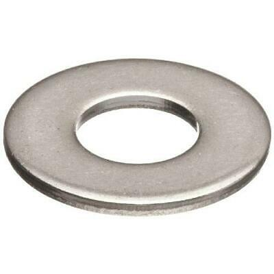 """50 Qty 1/2"""" Stainless Steel SAE Flat Finish Washers (BCP672)"""