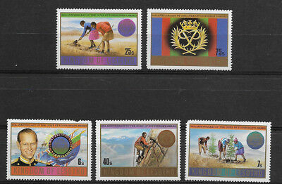Lesotho , 1981 , 25Th Anniv. , Set Of 5 Stamps  , Perf, Mnh