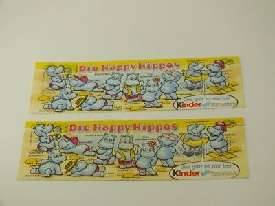 !!! BPZ HPF D 2x Happy Hippos 1988 ORI GUT !!!
