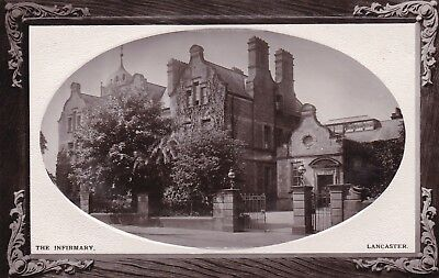 Postcard The Infirmary Lancaster by AH & S of Preston [ Hospital Medical Int ]