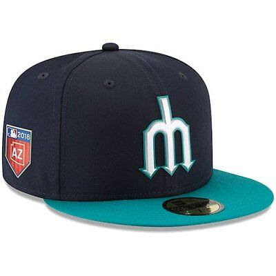 Seattle Mariners New Era 2018 Spring Training Collection Prolight 59FIFTY  Fitted c3f5bd5ff0b8
