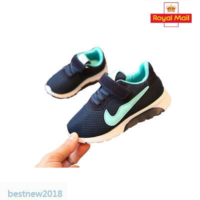 Kids Boys Girls Children Running Sport Student School Casual Trainers Shoes #10