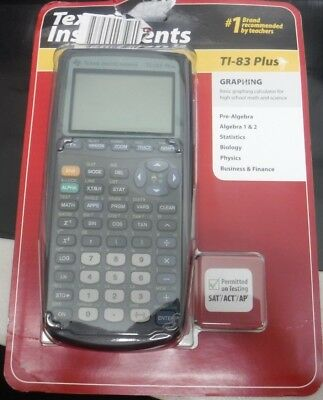 Texas Instrument Ti-83 Plus Graphing Calculator