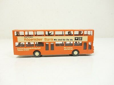 1:87--WIKING ..MAN Doppeldeckbus Köpenicker Bank     ..A7 /348